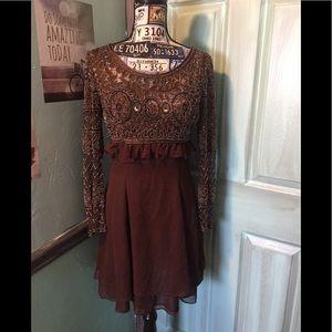 ORIGINAL Naeem Kahn beaded Evening Gown